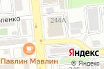 Схема проезда до компании Кнауф Гипс Капчагай в Алматы
