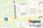 Схема проезда до компании Prometheus в Алматы