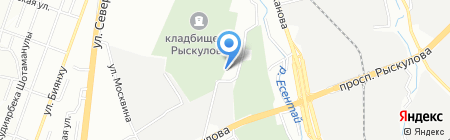 Азия Пром Комплект на карте Алматы