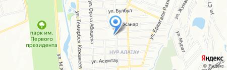 Продовольственный магазин на карте Алатау