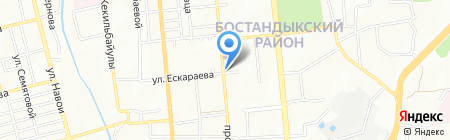 Национальная лотерея на карте Алматы