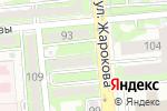 Схема проезда до компании Desire в Алматы