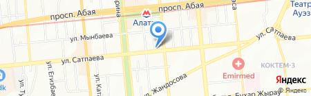 SOLOWAY на карте Алматы