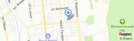 Алматинский онкологический центр на карте Алматы
