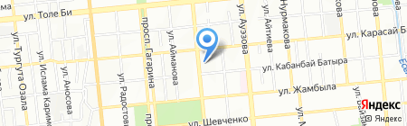 Орда Стом на карте Алматы