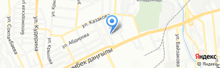 Никитос на карте Алматы
