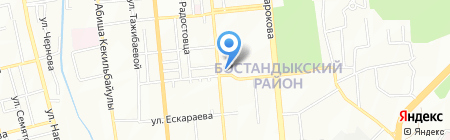 Инструмент-импорт ТОО на карте Алматы