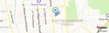 Мебельная компания на карте Алматы