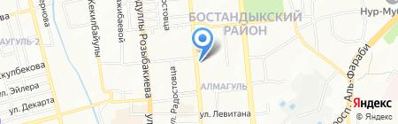 List на карте Алматы