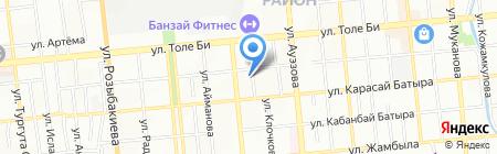 Кузет-Коргау на карте Алматы