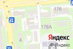 Схема проезда до компании КРИС-СЕРВИС в Алматы