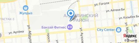 АНА САУДА на карте Алматы