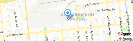 D-Stroy Engineering на карте Алматы