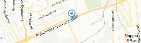 Парикмахерская на проспекте Райымбека на карте Алматы