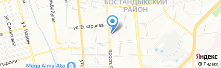 Salut на карте Алматы