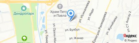 Наргиз продовольственный магазин на карте Алатау