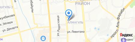 Nova Dent на карте Алматы