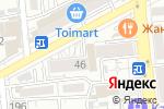 Схема проезда до компании Advans в Алматы
