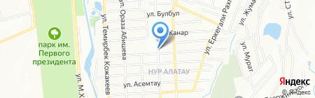 Фарида продовольственный магазин на карте Алатау