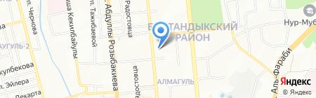 Моготекс Казахстан на карте Алматы