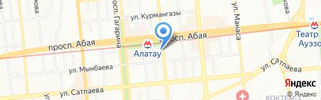 Таиса на карте Алматы