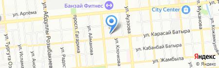 Потенциал на карте Алматы