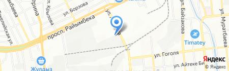 KERAMA MARAZZI на карте Алматы