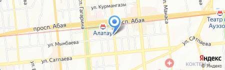Коримпо на карте Алматы