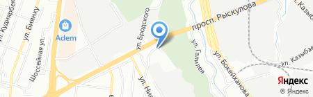 Reon на карте Алматы