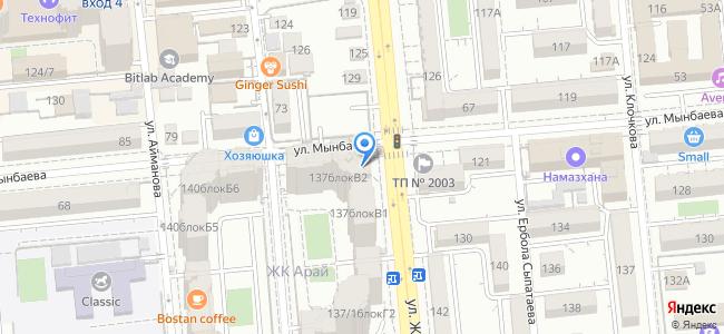 "ЖК ""Арай"", ул. Жарокова, 137 (Мынбаева), блок В2"