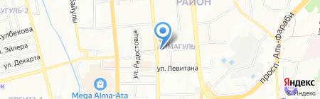 Участковый пункт полиции №49 Бостандыкского района на карте Алматы