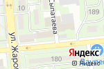 Схема проезда до компании Хлеб и Хмель в Алматы