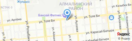 Пират на карте Алматы
