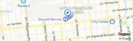 King Koil на карте Алматы