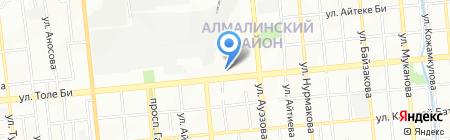 Белый Ветер на карте Алматы