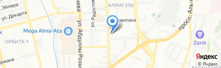 Кабачок Горыныча на карте Алматы