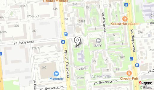 Style A. Схема проезда в Алматы