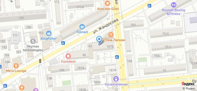 ул. Джандосова 40, уг. Жарокова