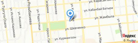 Svirskaya travel на карте Алматы