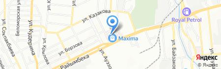 D & P на карте Алматы