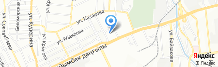 Bamboo на карте Алматы