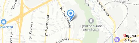 Дизайн-мебельХХI на карте Алматы