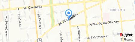 Бетина на карте Алматы
