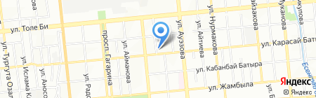 Магазин одежды на ул. Карасай батыра на карте Алматы