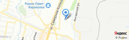 Общеобразовательная школа №87 на карте Алматы
