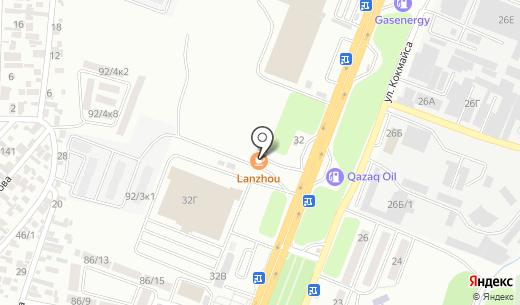 Достар Мед А. Схема проезда в Алматы