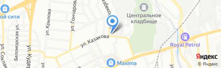 Мойка Чемпионов на карте Алматы