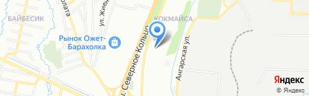 Вика на карте Алматы