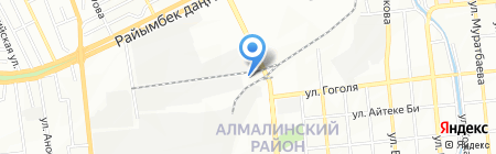 TKF Ratmir Company на карте Алматы