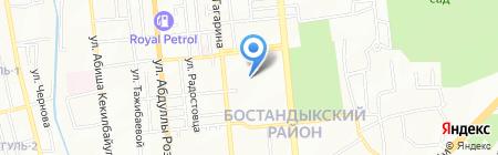 7Я на карте Алматы